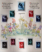 An Original Postage Stamp Collecting Album for Little People