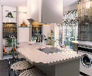 Kitchen for an interior designer's Brochure, Photography by John Neville Cohen