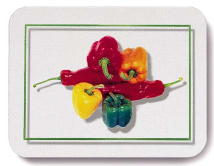 WorkTop Saver, Peppers by John Neville Cohen
