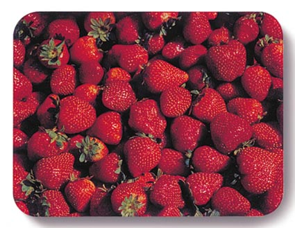 WorkTop Saver, Strawberries by John Neville Cohen