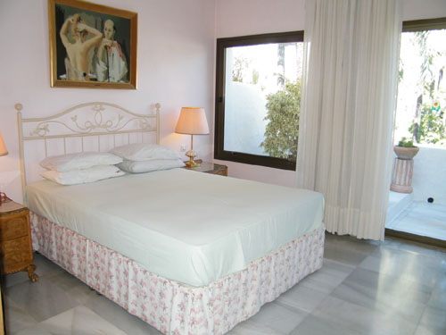 La Alcazaba Double Bedroom, one of 3 bedrooms all on one level, in this Apartment