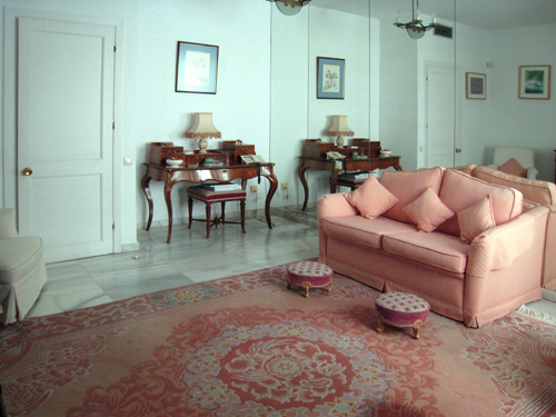 La Alcazaba Apartment, Double bedroom or study, one of 3 double bedrooms
